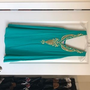 Lilly Pulitzer Green Cocktail Dress